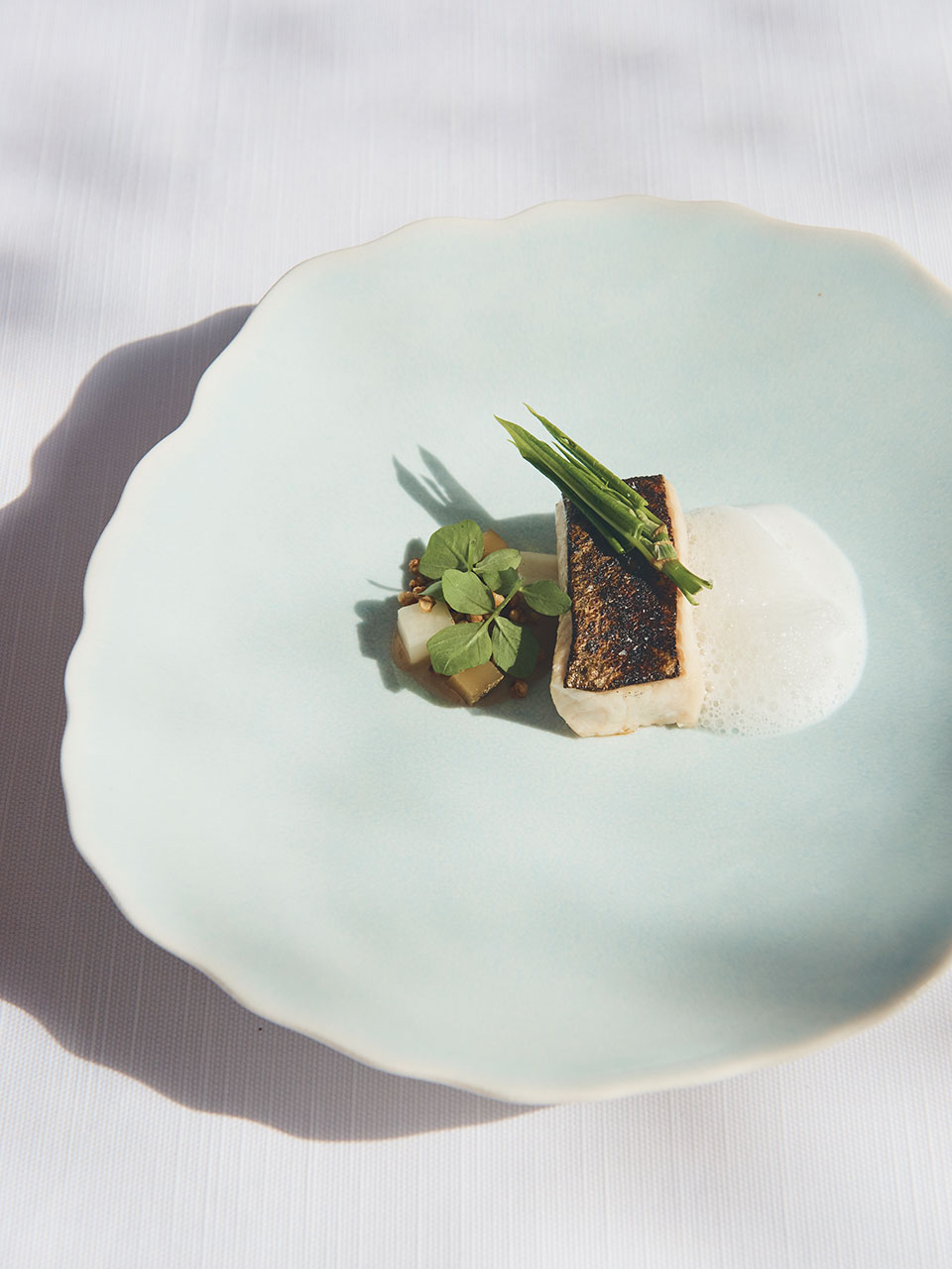Arctic char and buttermilk